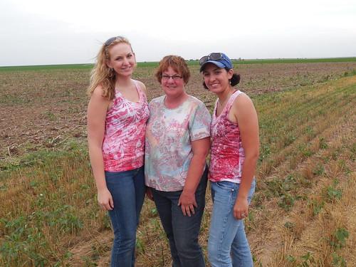 Megan, Mom and Ash reunited