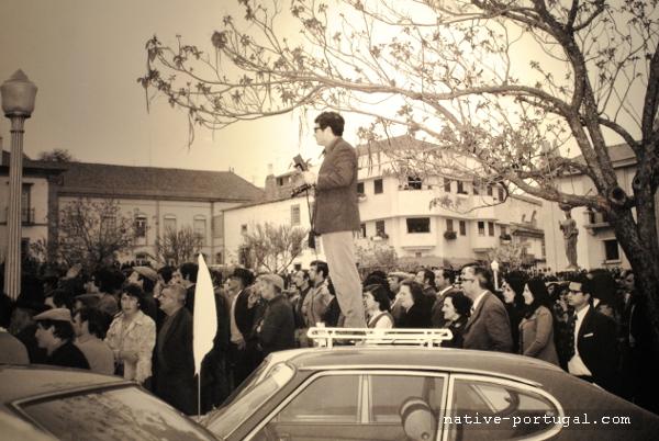 18 - 25 апреля 1974 года - революция гвоздик в Португалии - Каштелу Бранку