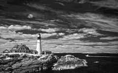 Portland Head Light [infrared]