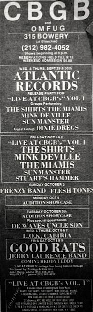 CBGB 09-29-76