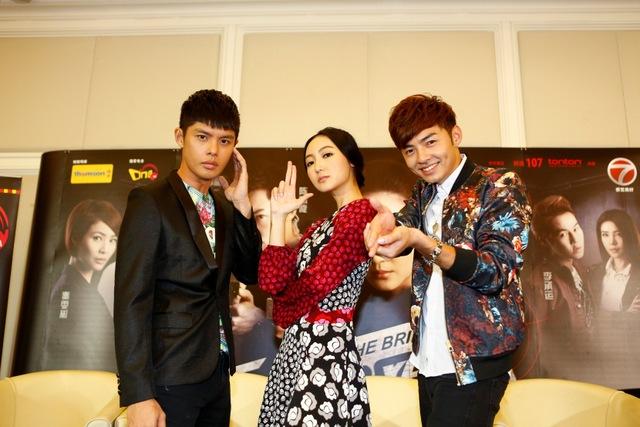 On The Brink PC (L-R) Henley Hii, Jojo Goh, Adrian Tan