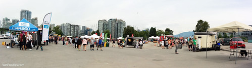 Food Cart Fest Vancouver - Panoramic