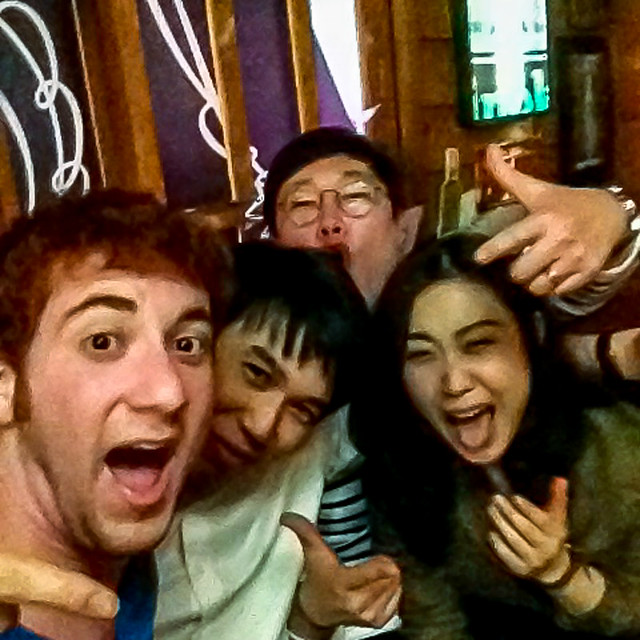 Pic with Koreans