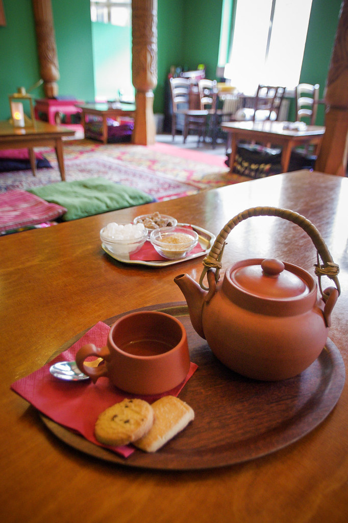 Visiter Berlin - Une maison de thé tadjik