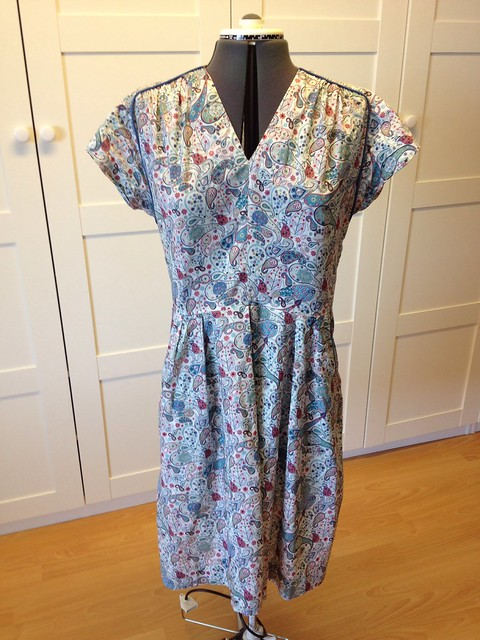 Liberty Mark Simplicity 2389 dress