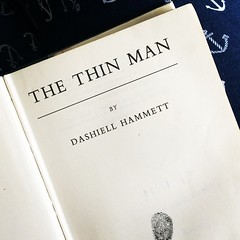 After reading a Jane Austen book once a year for 20 years, I think it's time to start a new tradition. #TheThinMan #DashiellHammett #LibraryBook #Book