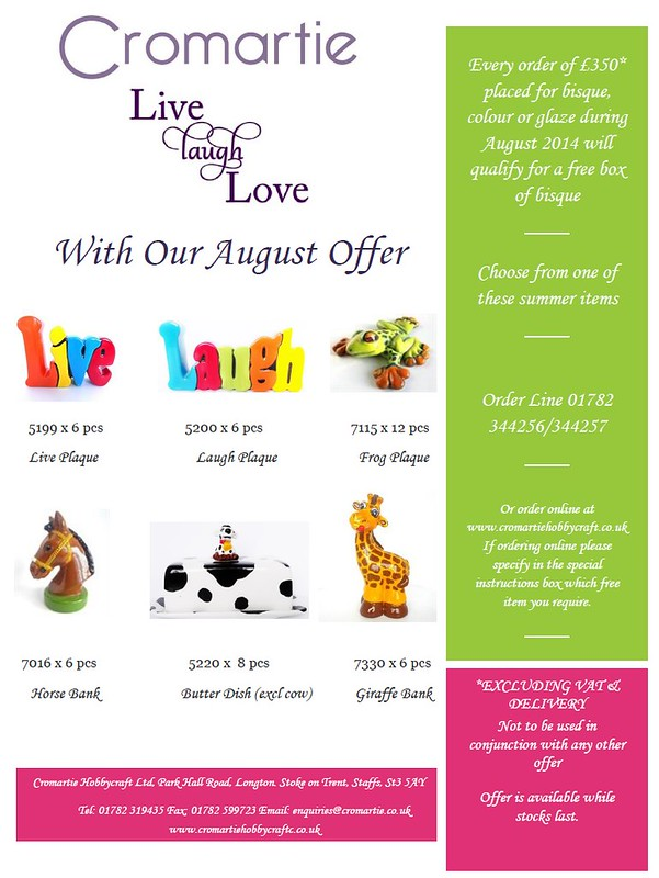 August Special Offer
