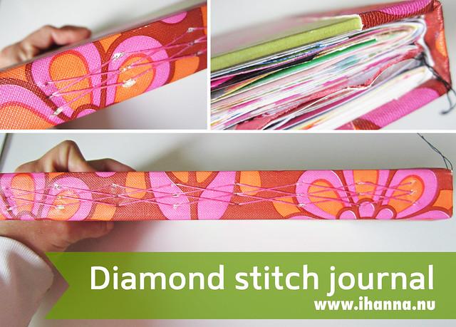 My Diamond Stitched Art Journal
