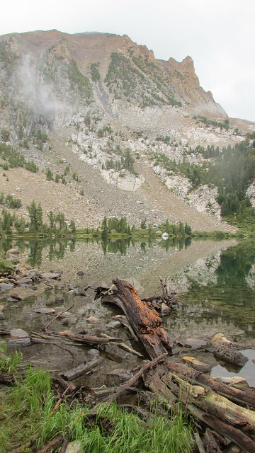 Backpacking to Gibbs Lake
