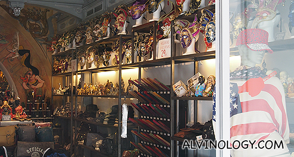 Masks shop