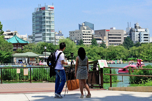 Photo:Couple of Shinobazu Pond / 不忍池の恋人たち By Dakiny