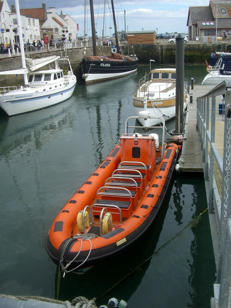 Isle of May boat