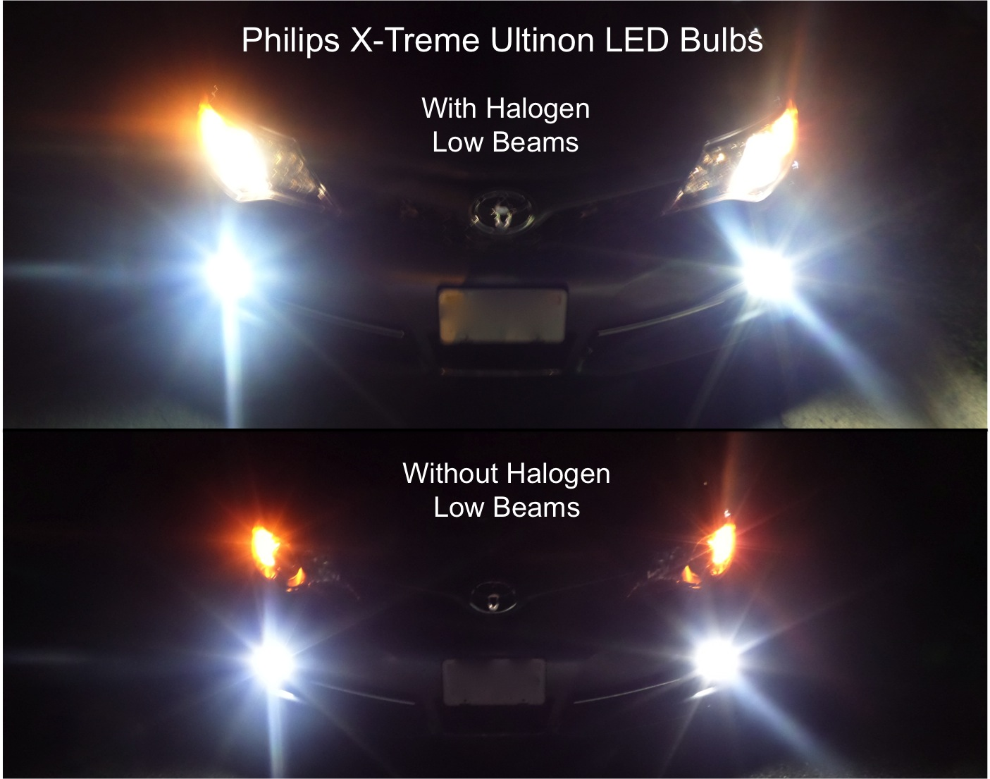 h8 h11 h16 philips x treme ultinon led bulb review. Black Bedroom Furniture Sets. Home Design Ideas