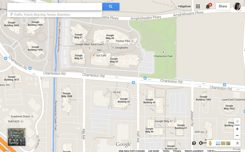 Googleplex Map1