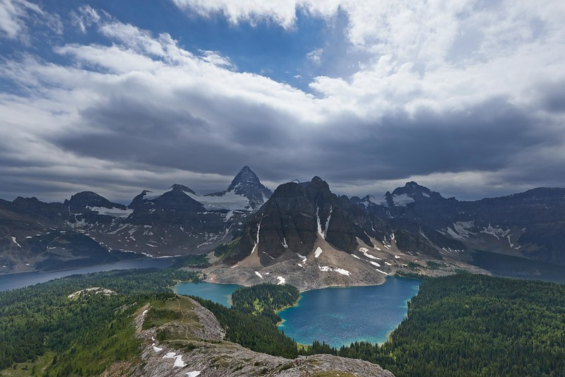 View from the Nublet - Mount Assiniboine Provincial Park