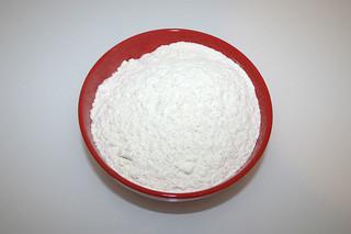 03 - Zutat Mehl / Ingredient flour