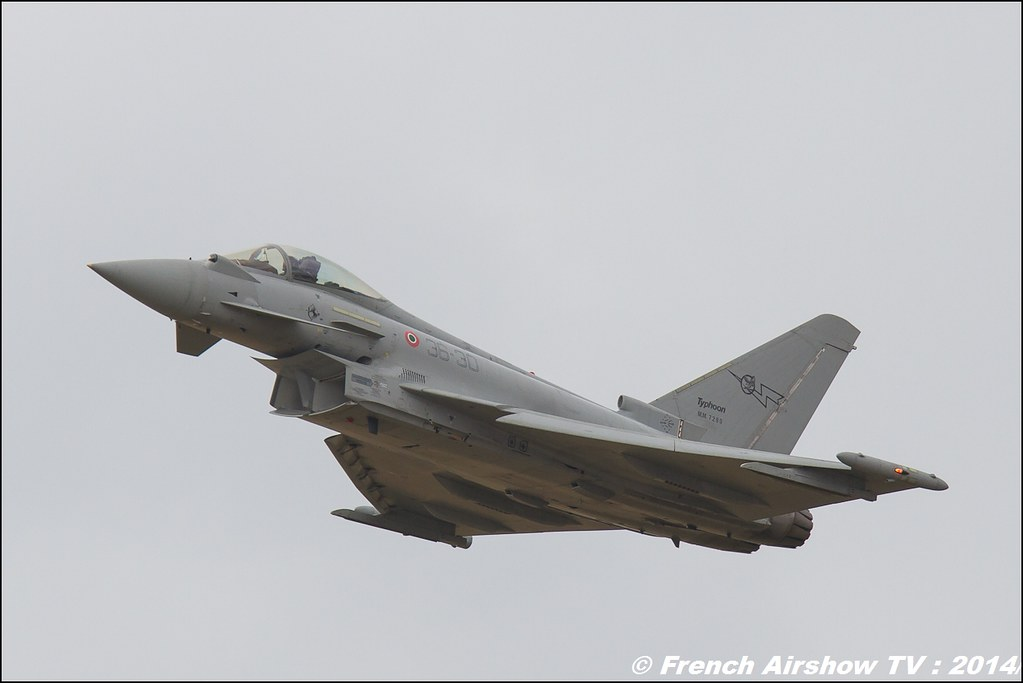 Eurofighter Typhoon Italian Meeting Aerien BA-133 Nancy Ochey 2014