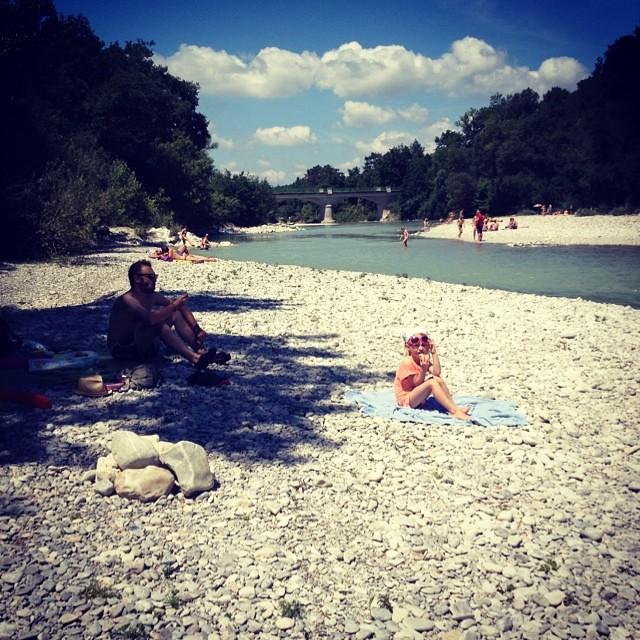 Dag 30. By far de beste rivier ooit. #67daysofsummer