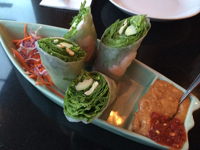 Fresh rolls - Thai Thani Kitchen