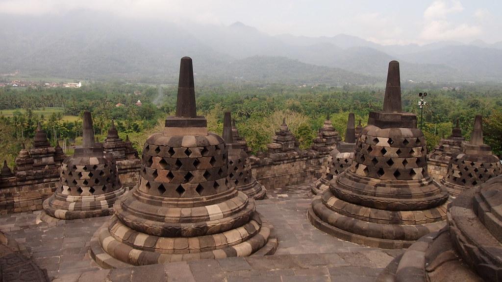 Borobudur - 50 de los lugares más bellos de Asia