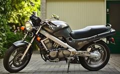 Honda NTV650 Motorcycle (1990) Left Side