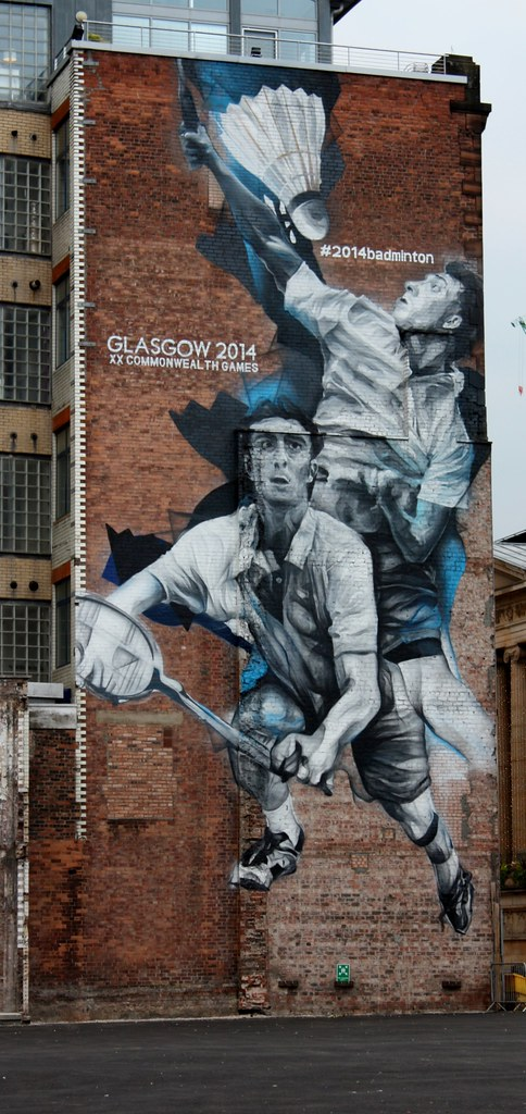 Glasgow Commonweath Games mural