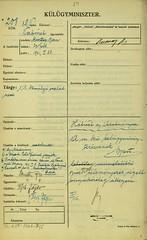 043. Báró Bornemissza Gyula svájci magyar követ levele a királyi család nevéről