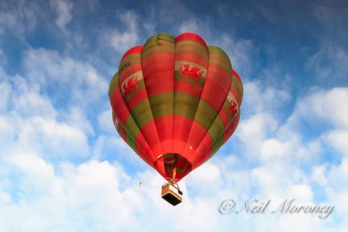 blue sky wales flying carmarthenshire westwales balloon flame hotairballoon ballooning reddragon tywivalley floatingsensations