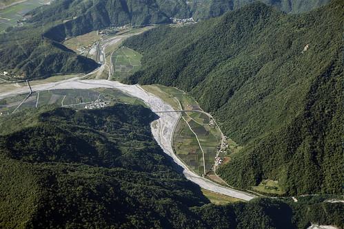 拉庫拉庫溪(南安地區);圖片來源:玉山國家公園管理處