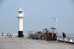 sea, ocean, lighthouse, boardwalk, tower,