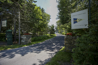 Spruce Point entrance
