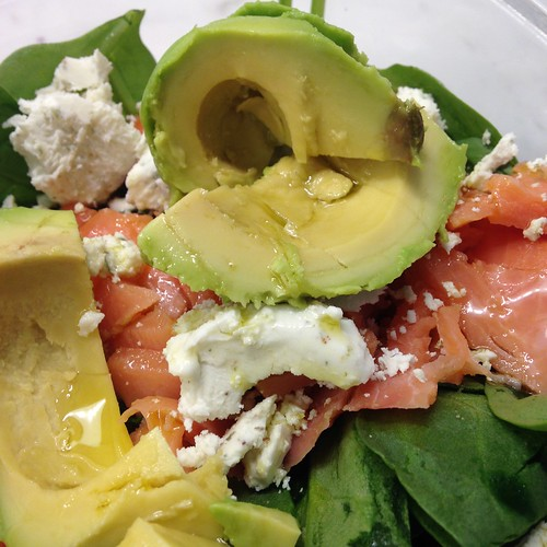 Lox, Avocado & Goat Cheese Salad – Best for the Moment