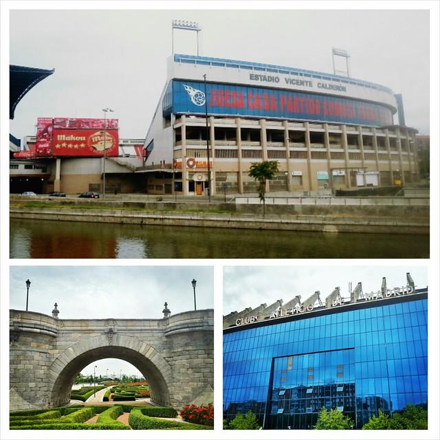 Madrid, Parque del Manzanares & Estadio Vicente Calderón