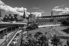 Circular Quay Warehouses B&W