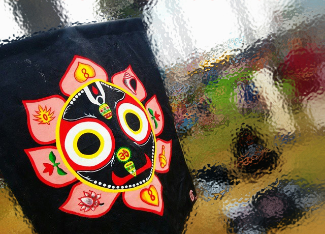Jagannath Street Art Tapestry (Venice Beach)