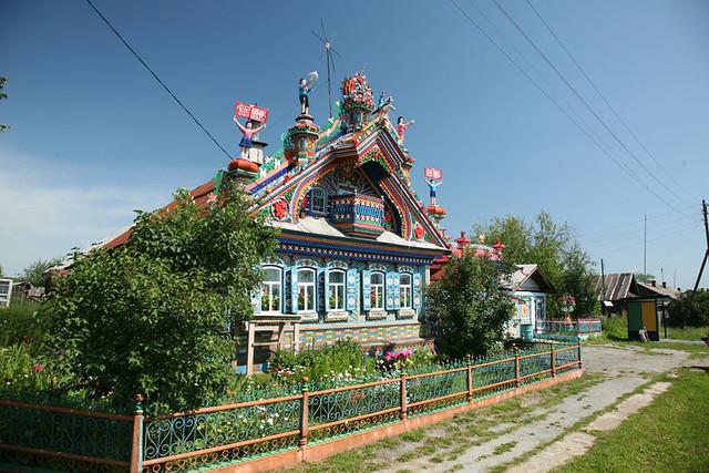 Кунара Дом кузнеца Кириллова ф