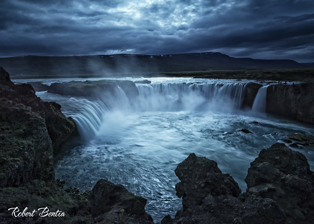 Goðdafóss - waterfall of the gods