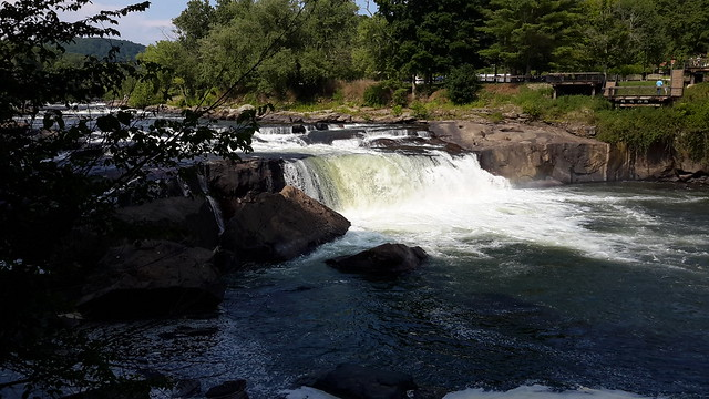 Ohiopyle Falls on the Youghiogheny River
