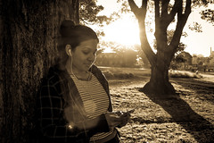 Portrait @ Sunset, Prince Alfred Park