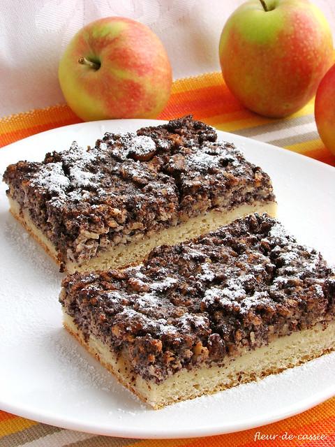 маково-яблочный пирог 2
