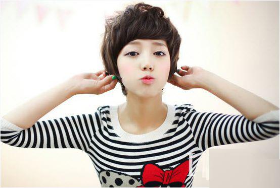 Các kiểu tóc ngắn đẹp! Tóc ngắn ép, uốn xoăn Hàn Quốc 3