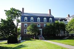 Woodman Hall at Colby