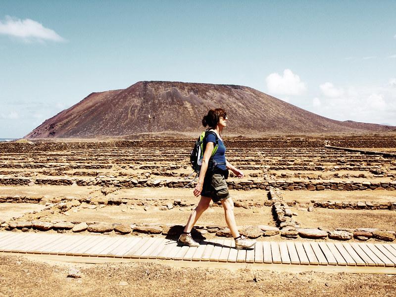 Salt pans, Isla de Lobos, Fuerteventura