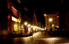 Blick in die Hauptstraße, Heidelberg