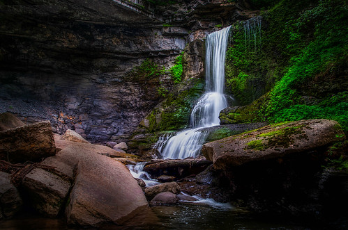 ny nature landscape waterfall upstate falls glen syracuse filmore cowsheds