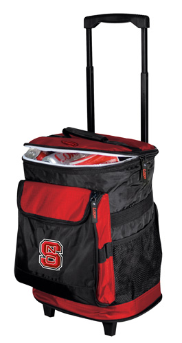 NC State Wolfpack Rolling Cooler