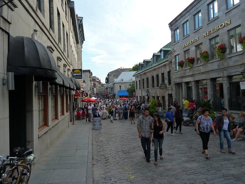 Старый Город Монреаля