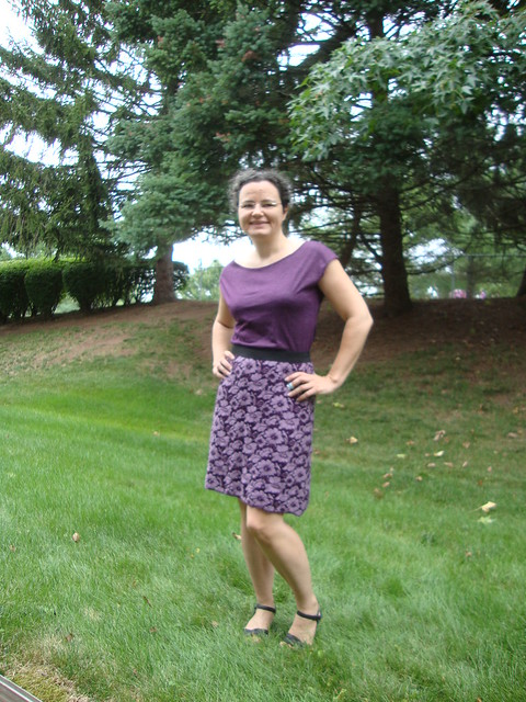 NL 6843 as a purple knit