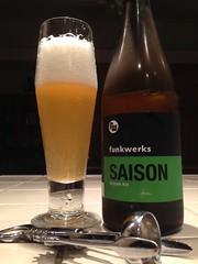 Funkwerks Saison by BeerHyped.com