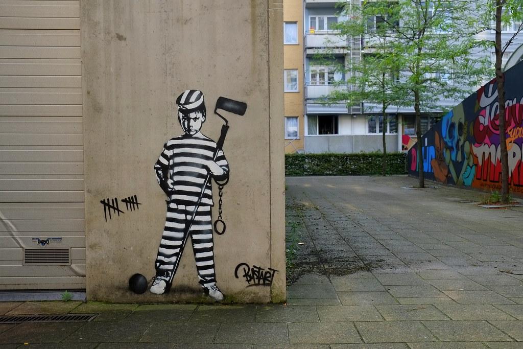 stencil | bustart | antwerp-luchtbal. belgium